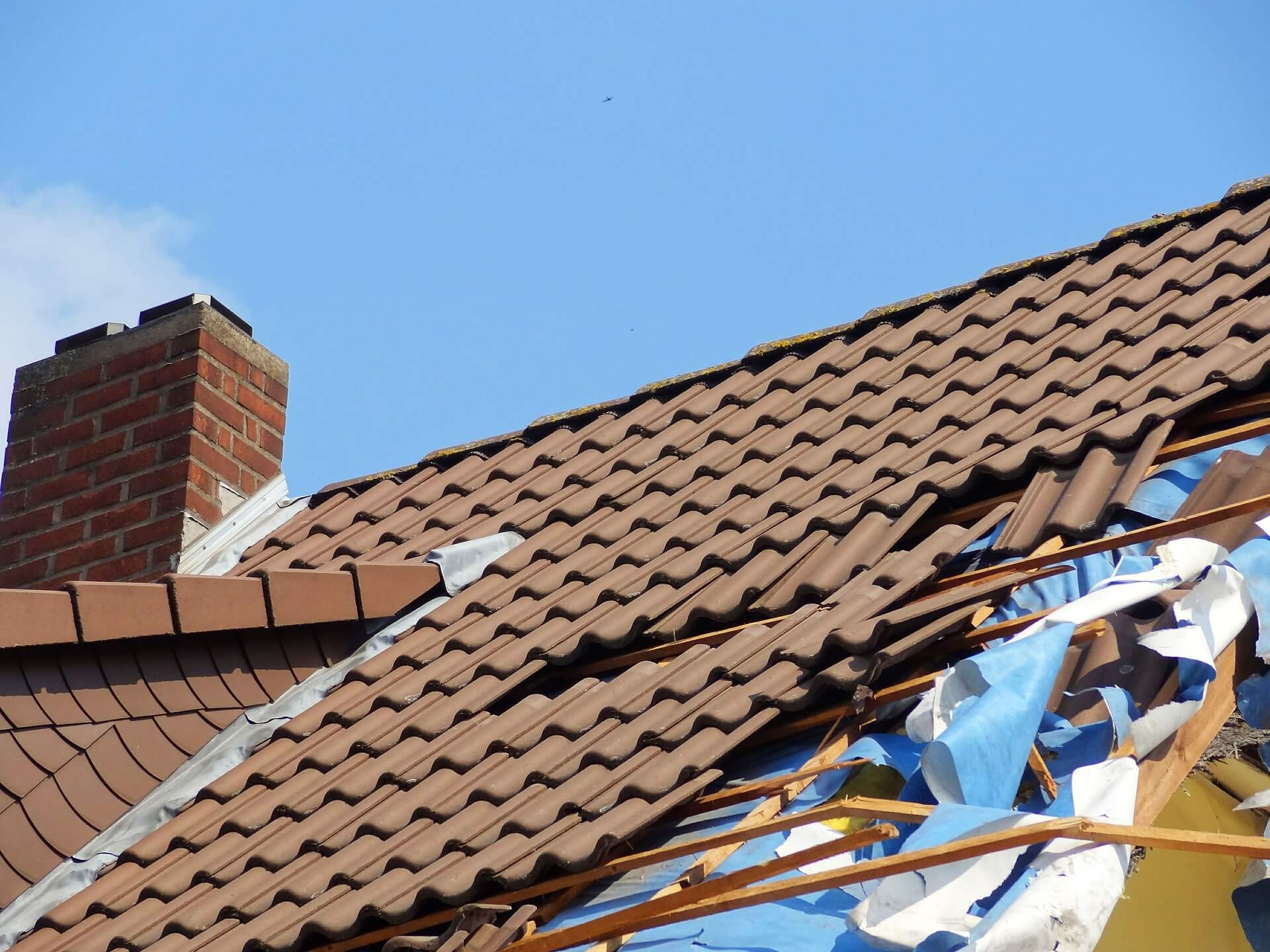 Poorly Constructed Tile Roofs